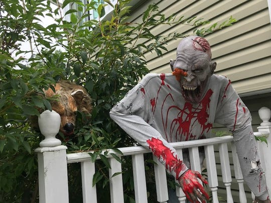 Halloween houses of the Jersey shore.