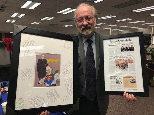 Record Searchlight reporter Jim Schultz will retire