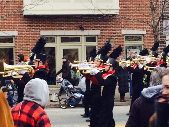 Collingswood Holiday Parade 2014