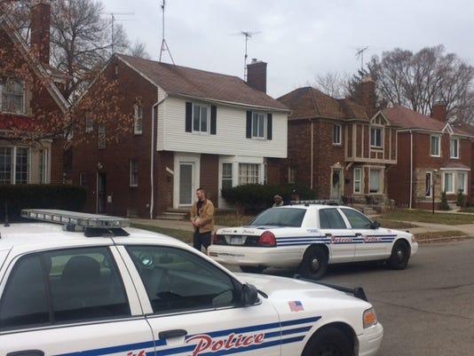 detroit police officer slashed in face