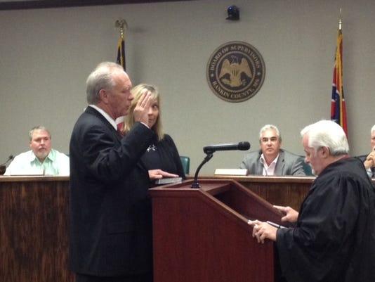 Rodney Keith sworn in