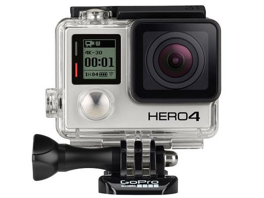 The HERO4 Black ($499) has full 4K video capture capabilities.