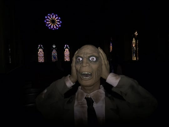 Ghoul at St. Mary's Church in Cold Spring.