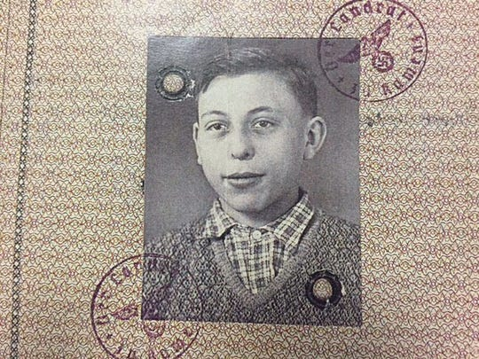 Passport photo of 15-year-old Eric Leiseroff, who