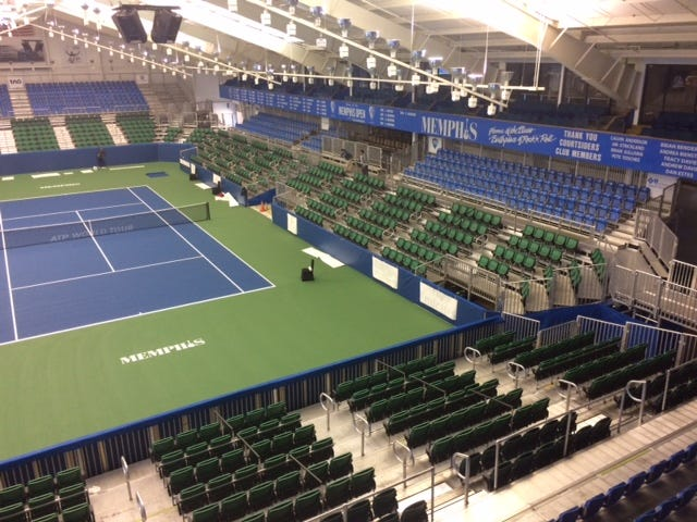 The Racquet Clubu0027s Stadium Court Seating Has Been Significantly