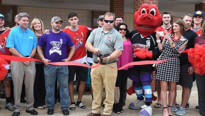 Owner Tommy Scott and the Shreveport Mudbugs held a ribbon cutting ceremony at Hirsch Coliseum on Tuesday to commemorate the rebirth of their new home, George's Pond.