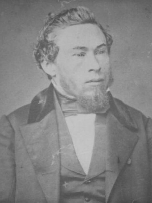 Homer A. Curtiss (1825-1885). Courtesy of Shasta Historical Society.