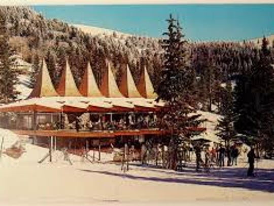 The Ski Apache Resort Lodge is shown.