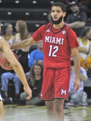 Miami University men's basketball player Darrian Ringo was charged with misdemeanor domestic violence last month.