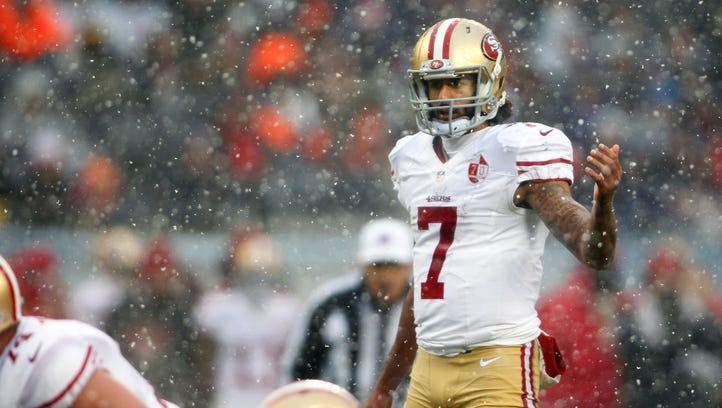 Tuesday NFL buzz: Colin Kaepernick to remain 49ers' starting QB