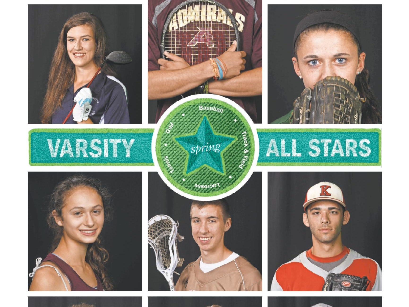 Poughkeepsie Journal 2015 Spring High School All Stars cover