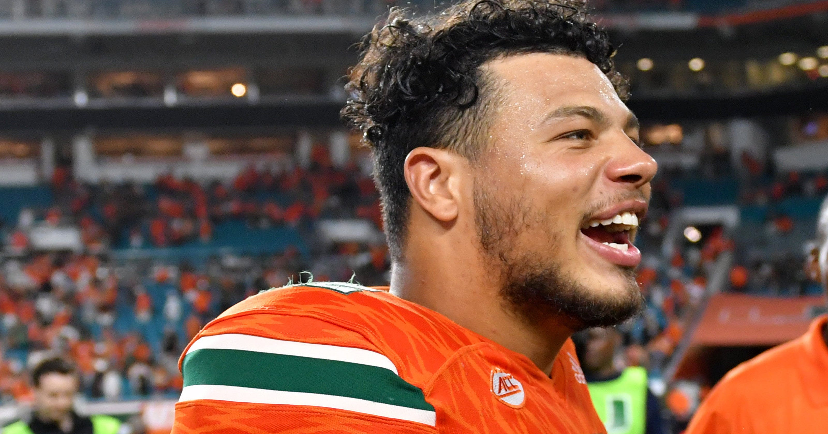 Miami Hurricanes QB Malik Rosier played Notre Dame days after his father  had a stroke d74f6487b