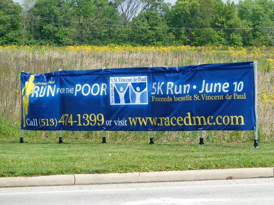 The St. Vincent de Paul 5K Run for the Poor is 9 a.m. Saturday, June 10, with start and finish at St. Elizabeth Ann Seton Church in Milford, Ohio.