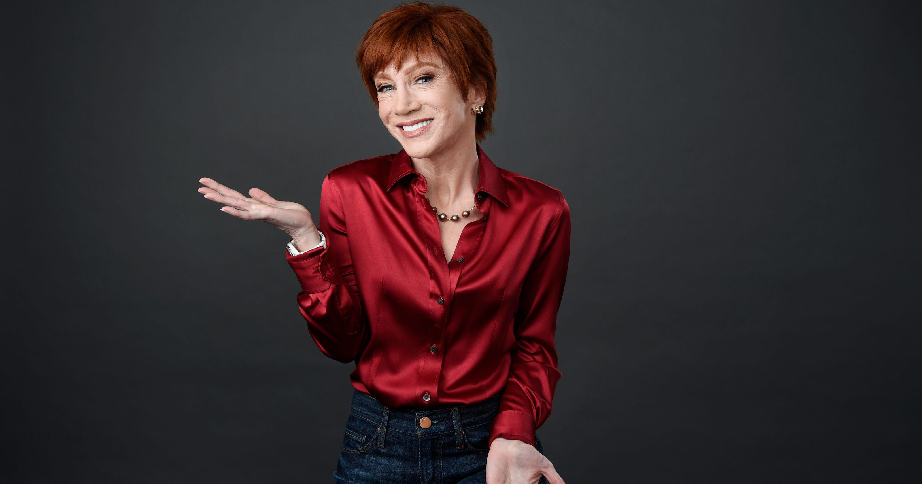 kathy griffin talks laugh your head off tour trump photo kevin hart