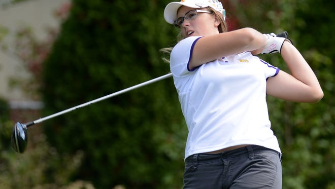 North Henderson's Megan Burgess won Tuesday's 3-A Western Regional golf tournament in Etowah.
