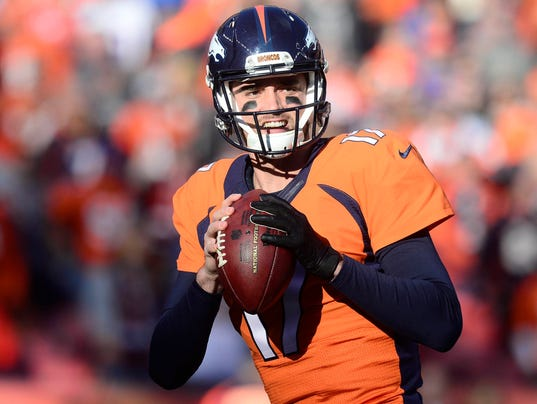 All Signs Point To Brock Osweiler As Broncos Starting