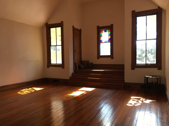 On the vernal equinox, a unique phenomenon occurs on the third floor of the Lapham-Patterson House.
