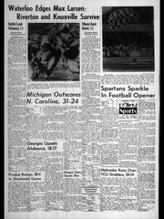 BC Sports History - Week of Sept. 17, 1975