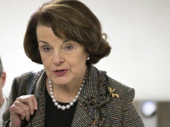 U.S. Sen. Dianne Feintstein