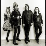 The Slambovian Circus of Dreams is, from left, Tink Lloyd, Joziah Longo, Eric Puente and Sharkey McEwen.