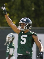Michigan State receiver Hunter Rison on July 31, 2017