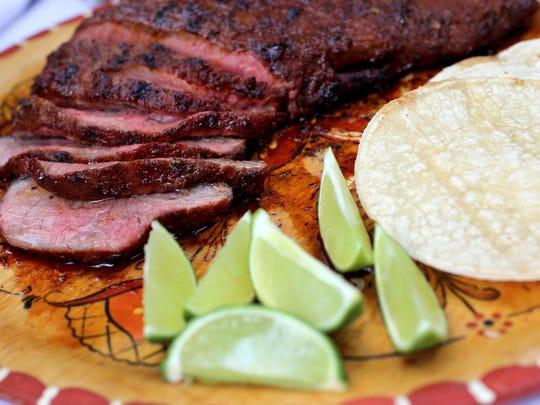 Chili-Lime Flat Iron Steak