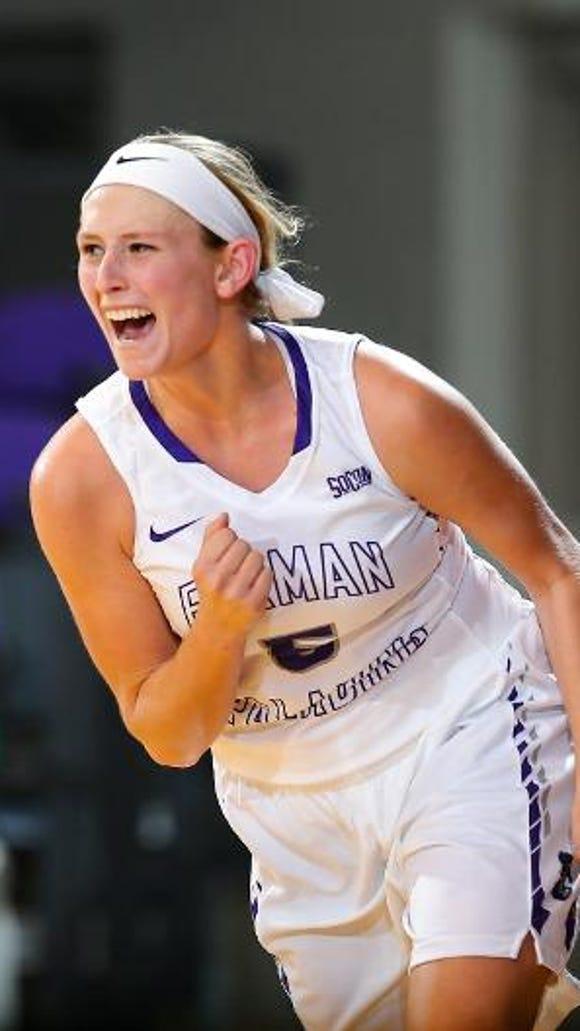 Carolina Day graduate Allison Beasley is a junior for the Furman women's basketball team.