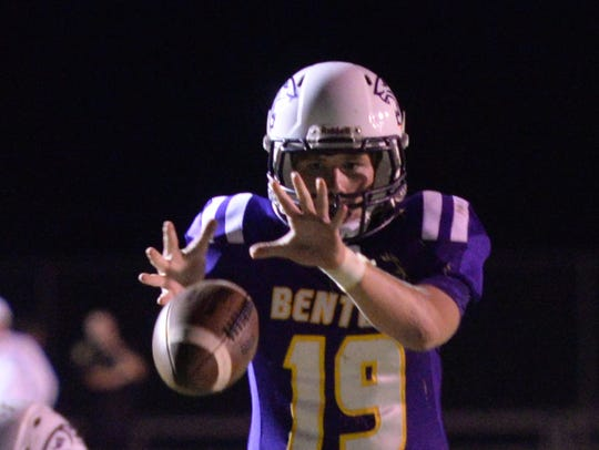 Benton's Garrett Hable was the top scoring quarterback