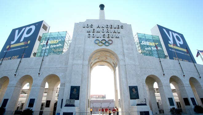 The Los Angeles Memorial Coliseum could be the temporary home for two NFL teams next fall.