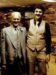 Elmer (Al) Riney and his son Bob Riney.