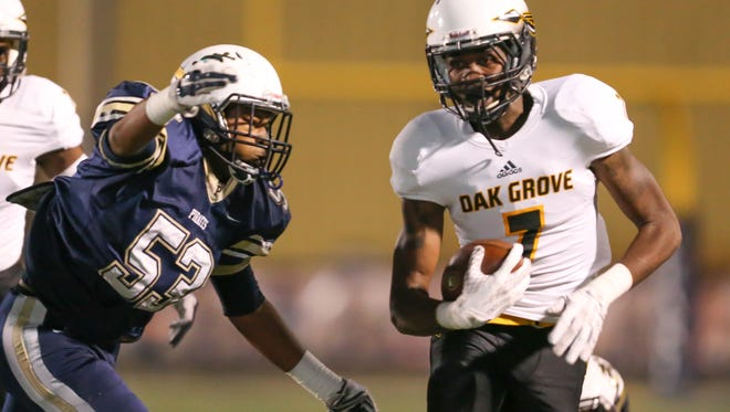 Oak Grove will play Jim Hill on Friday while Pearl will take on Brandon.