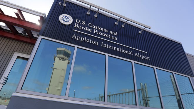 U.S. Customs office at Appleton International Airport cleared 58 planes in its first full year in business.