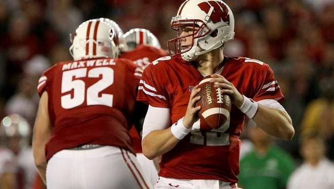 Wisconsin QB Alex Hornibrook has thrown 17 TDs against 12 interceptions.