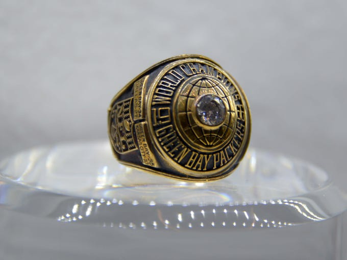 Super Bowl I ring: The Green Bay Packers defeated the