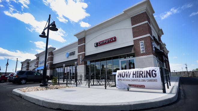 The new Chipotle Restaurant in North Cornwall at 1451  Quentin Road promises, almost, opening will be Thursday, May 11.