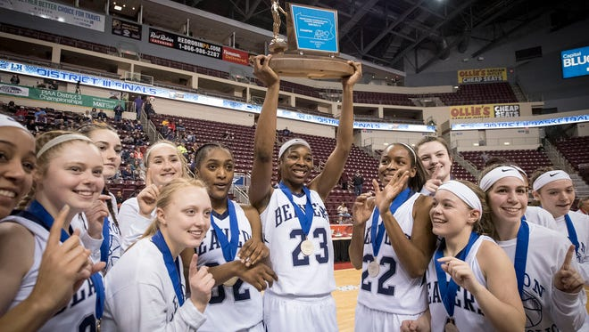 The Lebanon Catholic Beavers are the 20-time district champs after defeating Linden Hall 46-36 Thursday afternoon, Mar. 1 at the Giant Center in Hershey.
