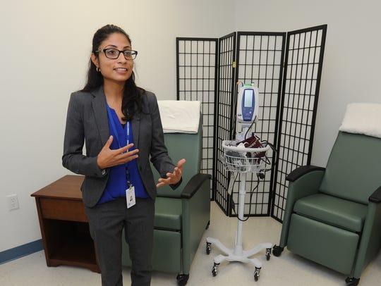 Daphne Chaniz-Rico, Health Service Administrator with