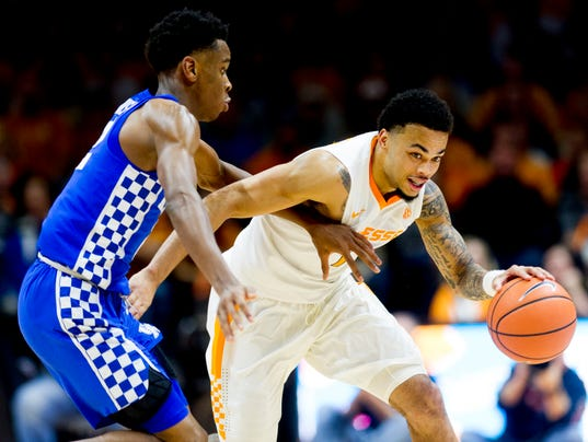 Uk Basketball Uk Vs Tenn: James Daniel III, Lamonte Turner Step Up For Vols Against