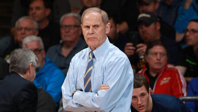 Michigan basketball coach John Beilein.
