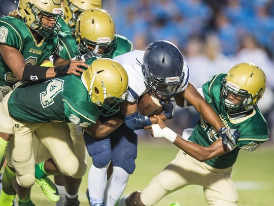 Acadiana High is hoping the Rams will be doing a lot of gang-tackling of Hahnville running back Anthony Williams in Friday's Class 5A state semifinal game at Bill Dotson Stadium.