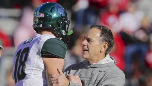 Mark Dantonio will spend some time watching other games during the Spartans' bye week prior to their game at Nebraska.