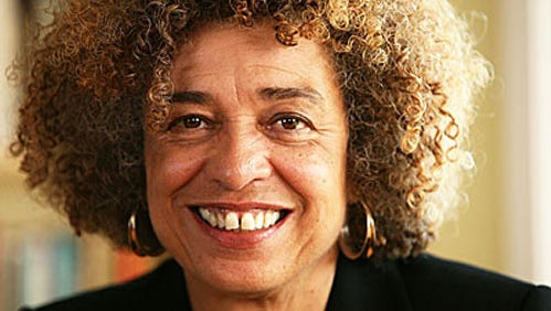 Civil rights activist Angela Davis spoke Wednesday night at Marquette University.