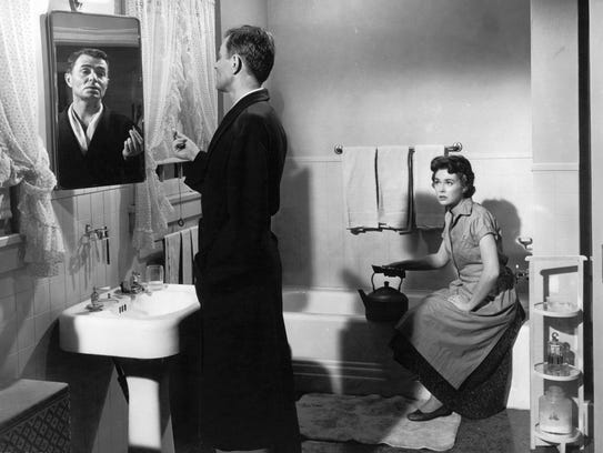 James Mason and Barbara Rush in Bigger than Life