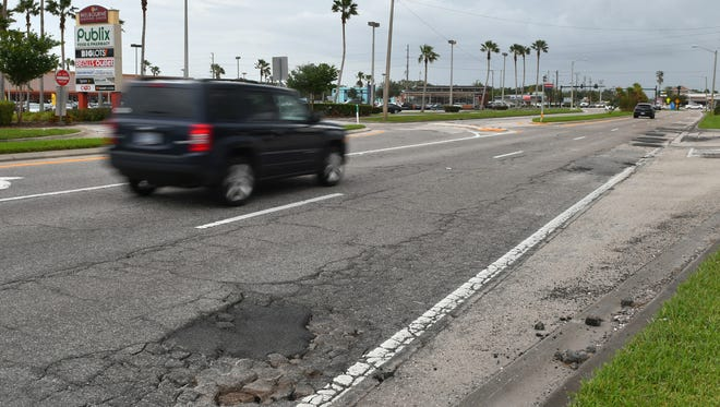 The section of Babcock Street in Melbourne between Apollo Boulevard and Hibiscus Boulevard will be reconstructed as part of a deal between the city and Brevard County.