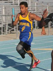 Kittrell also competes in the 100-meter and 200-meter for the Saints' track team, along with the long jump.