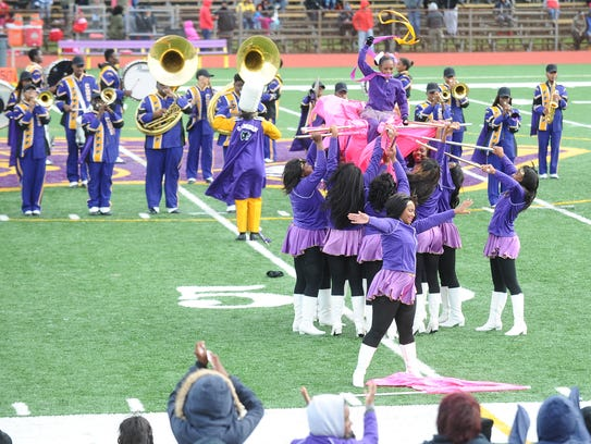The Camden High School Mighty Marching Panthers Band