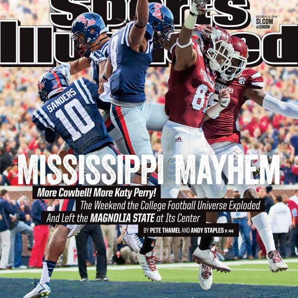 Mississippi State and Ole Miss appeared on this week's edition of Sports Illustrated.