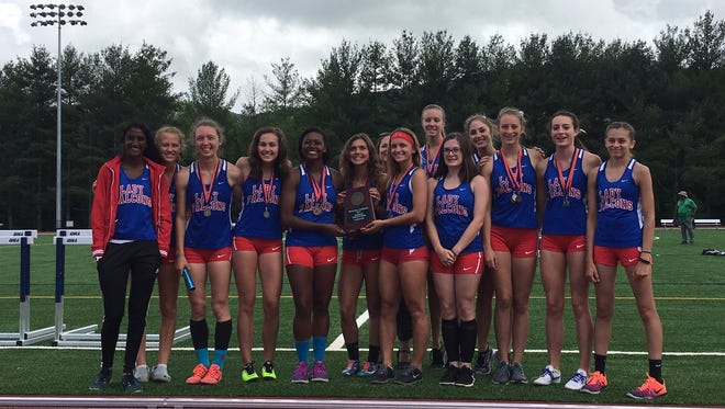 West Henderson was the girls team champion at Saturday's 3-A Western Regional track meet..