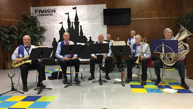 Armadillo Republic Jazz Band will perform Saturday at 2 p.m. at the Anglican Church of the Epiphany. The concert will benefit the Sacramento Mountains Senior Citizens Center.