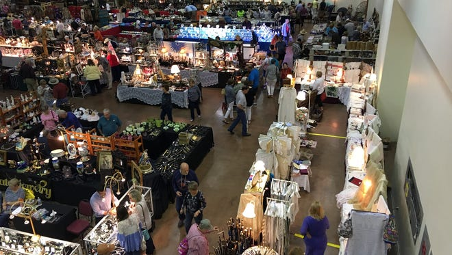 Among the items featured at the show are early American, Western, Native American and European, from the 1700s through mid-century modern.